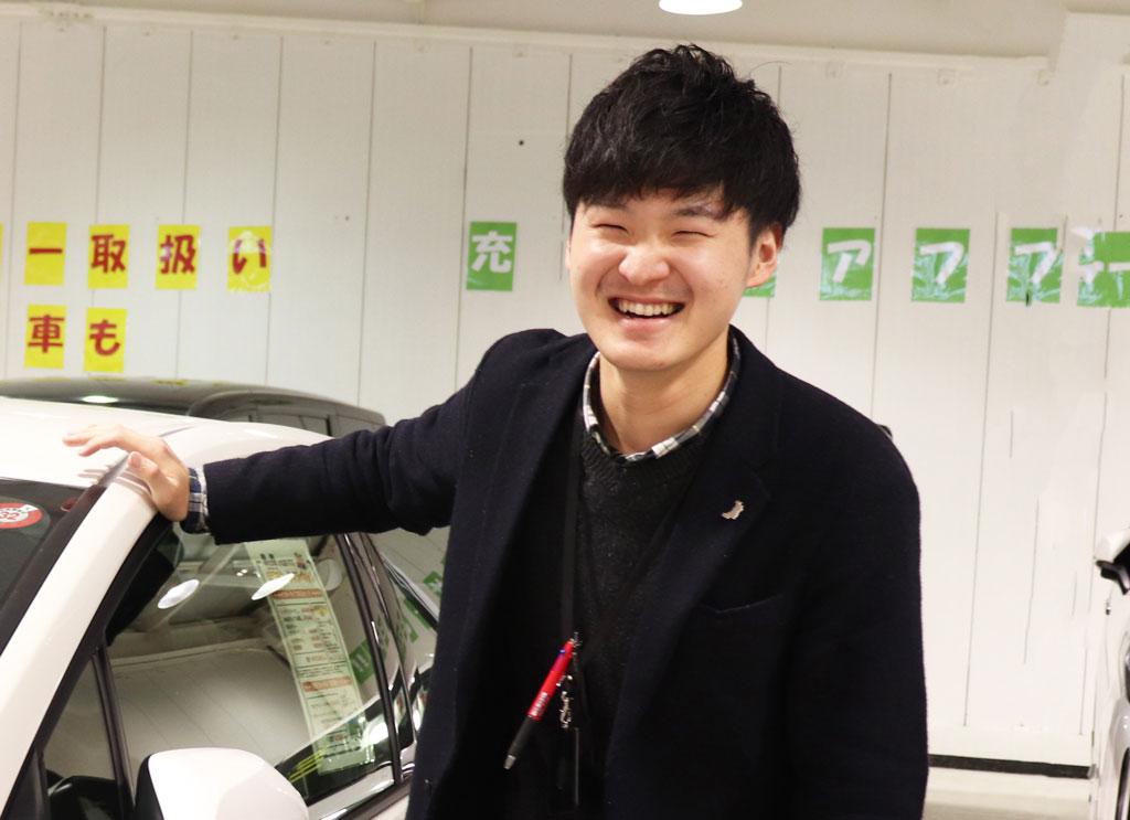 車の森スタッフ紹介♪vol.1深川 知典(ふかがわ とものり)01