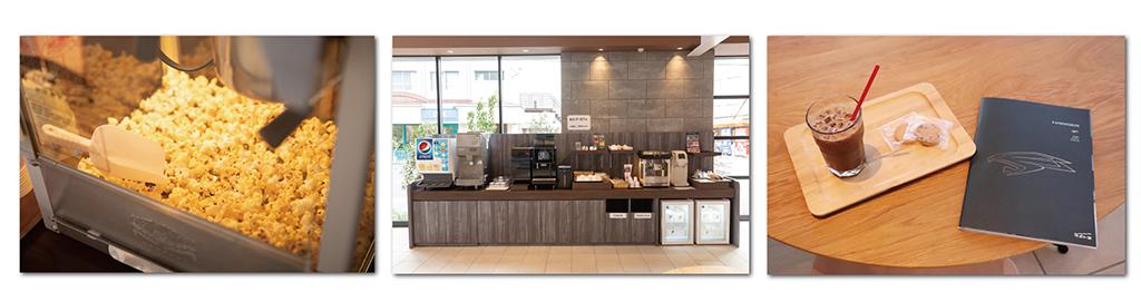 カフェのようなお店